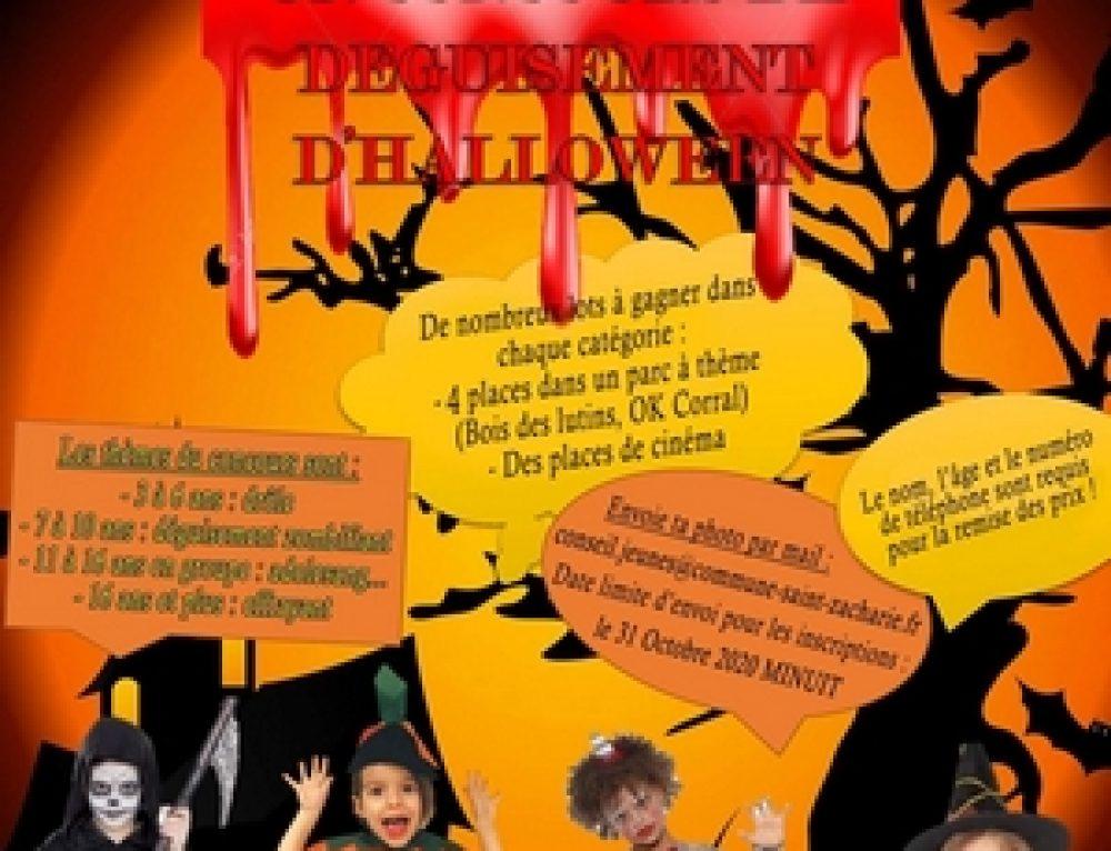 Halloween ! Concours de déguisement