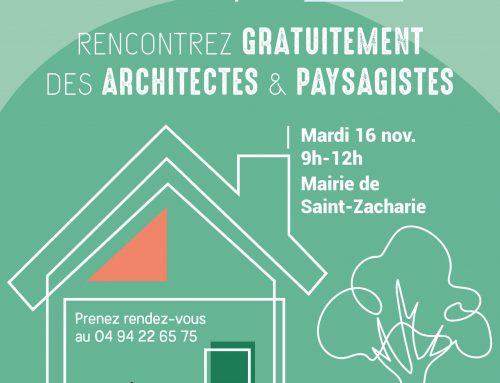 Rencontre gratuite architectes & paysagistes